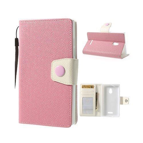 Brooklyn Pinkki Nokia Xl Nahkakotelo