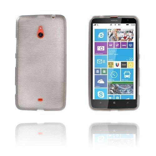 Brush Harmaa Nokia Lumia 1320 Suoja