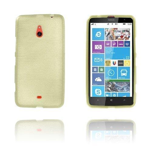 Brush Kultaen Nokia Lumia 1320 Suoja