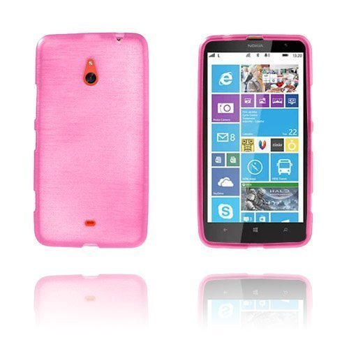 Brush Kuuma Pinkki Nokia Lumia 1320 Suoja