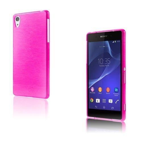 Brush Kuuma Pinkki Sony Xperia Z2 Suojakuori
