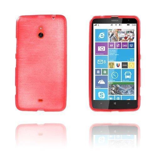 Brush Punainen Nokia Lumia 1320 Suoja