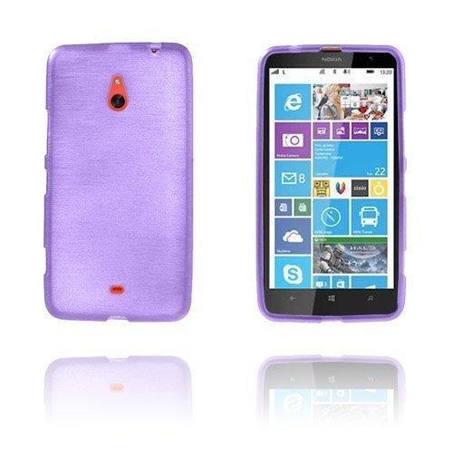 Brush Purppura Nokia Lumia 1320 Suoja