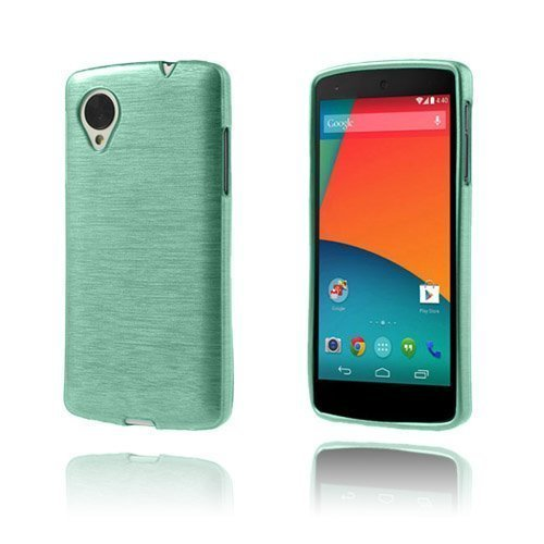Brush Turkoosi Google Nexus 5 Kuori