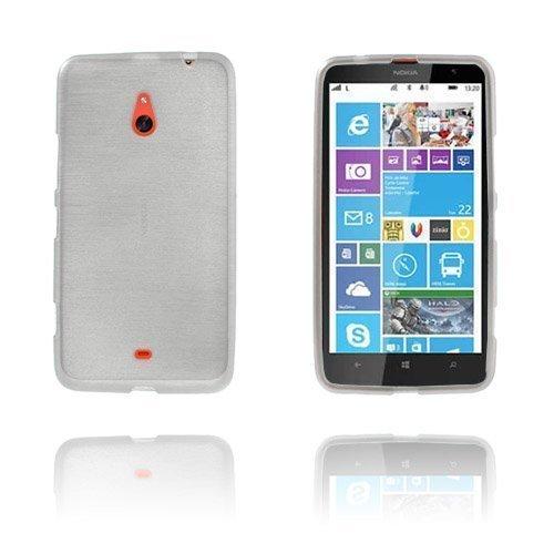 Brush Valkoinen Nokia Lumia 1320 Suoja