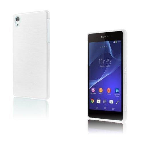 Brush Valkoinen Sony Xperia Z2 Suojakuori