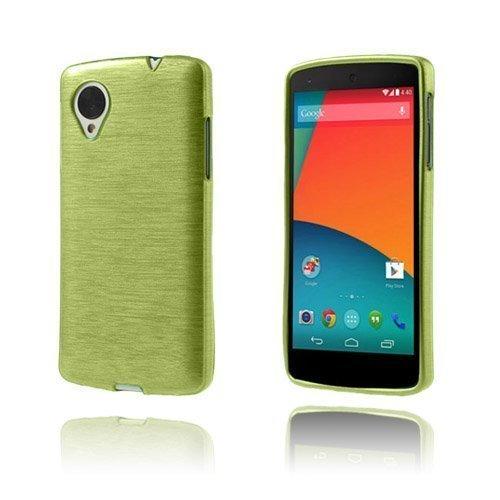 Brush Vihreä Google Nexus 5 Kuori
