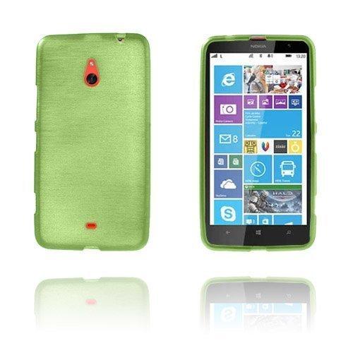 Brush Vihreä Nokia Lumia 1320 Suoja