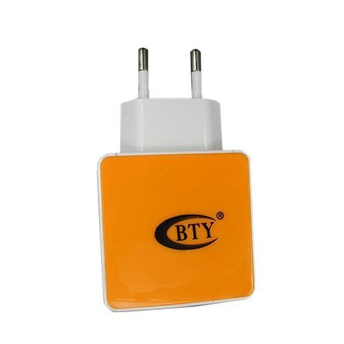 Bty M507 Oranssi 5v 1.2a Universaali Usb Laturi Eu Pistoke