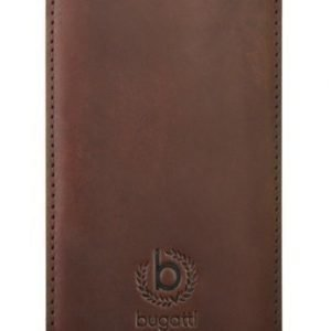 Bugatti Leather FlipCase iPhone 5 Brown