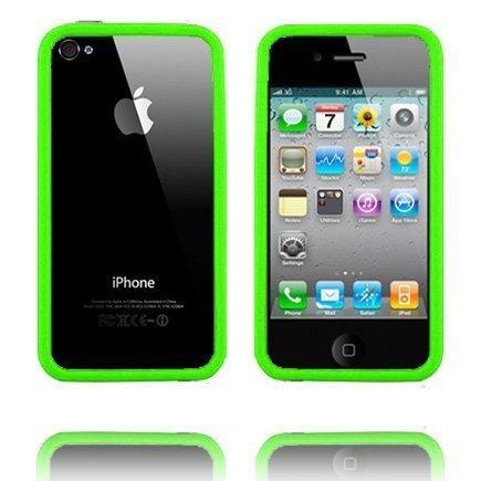 Bumper I4 Limenvihreä Iphone 4 / 4s Bumper Suojakehys