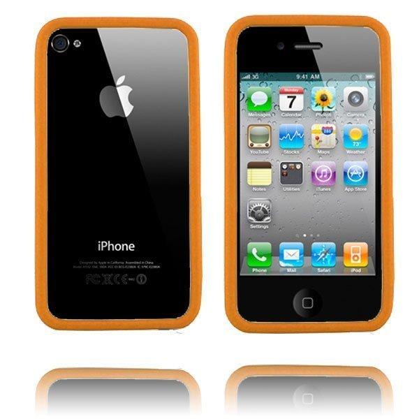 Bumper I4 Oranssi Iphone 4 / 4s Bumper Suojakehys