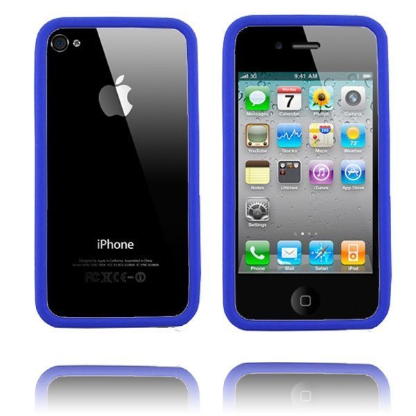 Bumper I4 Sininen Iphone 4 / 4s Bumper Suojakehys