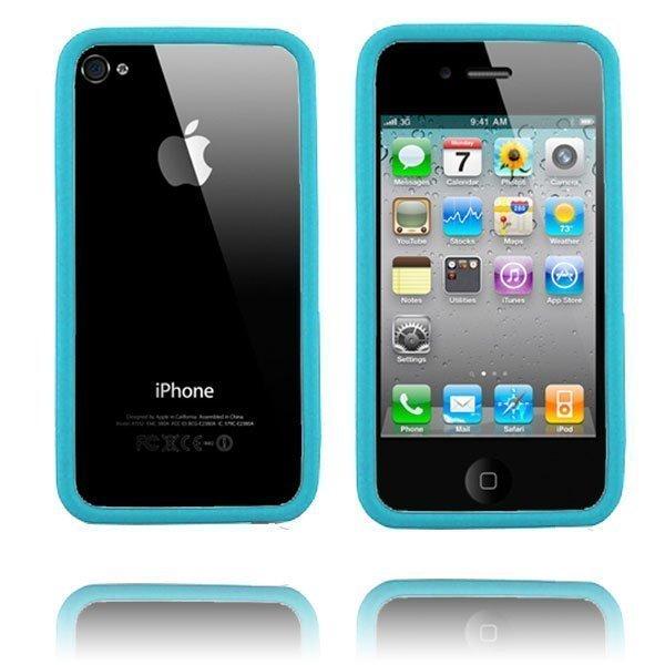 Bumper I4 Vaaleansininen Iphone 4 / 4s Bumper Suojakehys