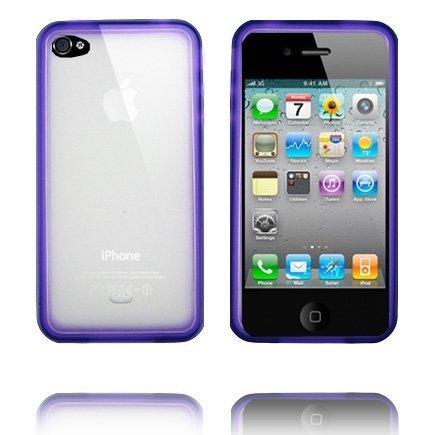Bumper Plus Violetti Iphone 4 Silikonikuori