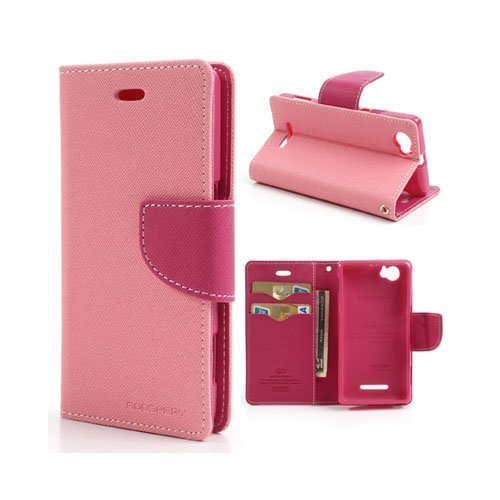 Business Case Sony Xperia M Kotelo Pinkki
