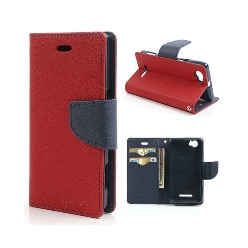 Business Case Sony Xperia M Kotelo Punainen