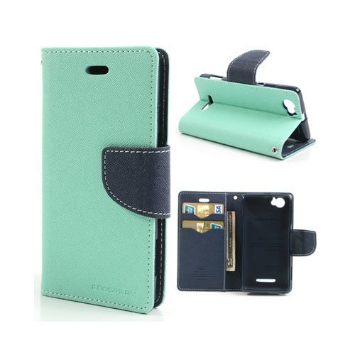 Business Case Sony Xperia M Kotelo Turkoosi