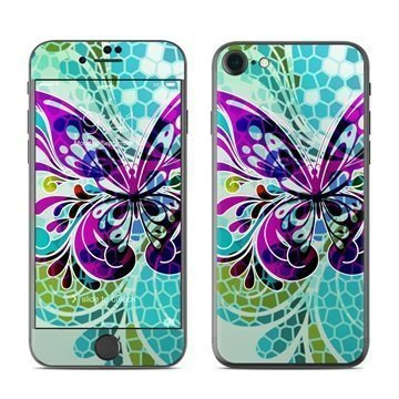 Butterfly Glass iPhone 7 Skin