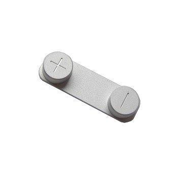 Button Äänenvoimakkuus iPhone 5 valkoinen