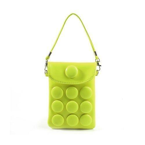Button Bag Keltainen Älypuhelinlaukku