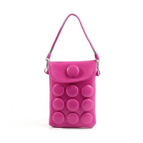 Button Bag Kuuma Pinkki Smartphone Suojatasku
