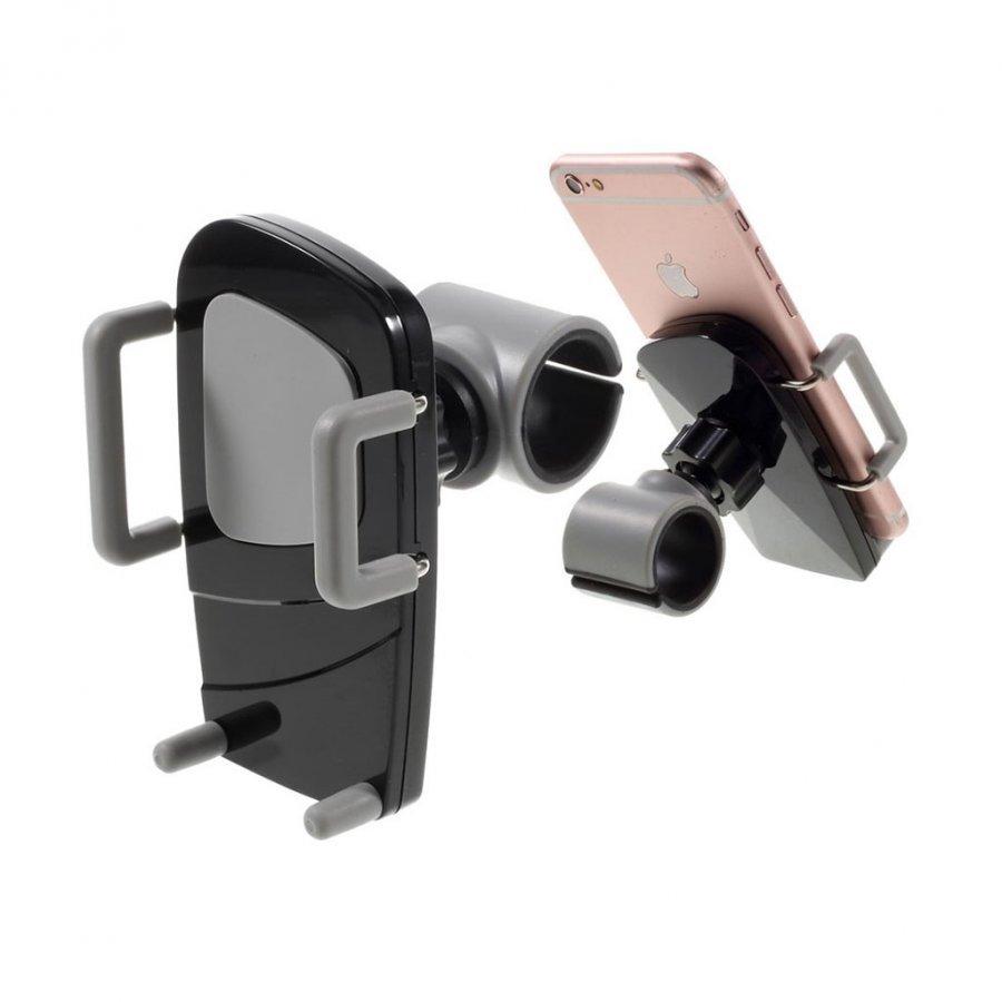 C89+H90 Universaali Pyöräteline Klipsi Älypuhelimille