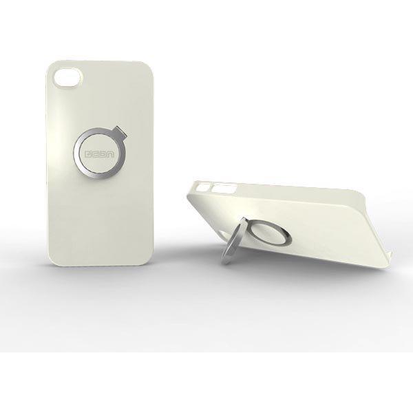 CDN Circlet kovamuovikuori tukitoiminto sopii iPhone4/4S valkoinen
