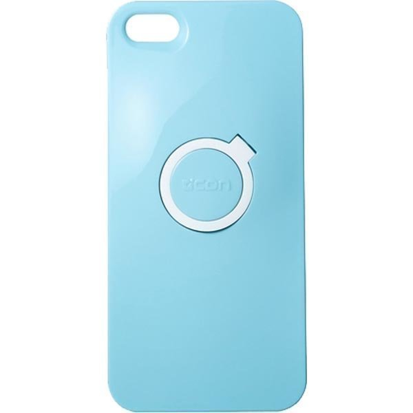 CDN Criclet 5 muovikuori tukitoiminnolla iPhone 5 malliin va-punaine