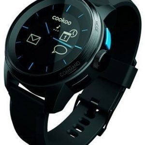 COOKOO Bluetooth watch Black on Black