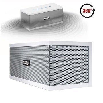 Cabstone SoundBlock Bluetooth Kaiutin Valkoinen