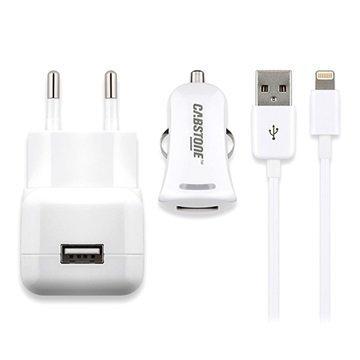 Cabstone USB-Laturisarja Valkoinen