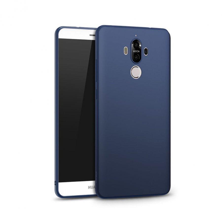 Cafele Huawei Mate 9 Joustava Matta Muovikuori Tummansininen