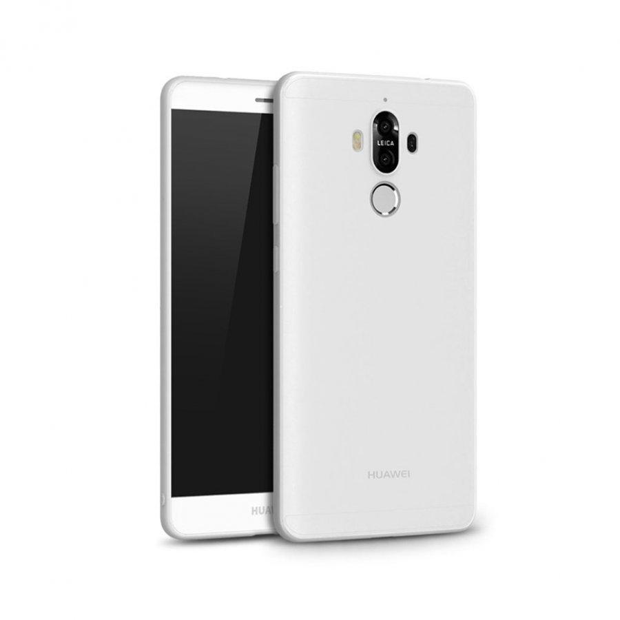 Cafele Huawei Mate 9 Joustava Matta Muovikuori Valkoinen