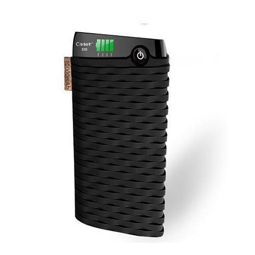Cager S20 10000mah Kaksois-Usb Varavirtalähde Älypuhelimille Musta