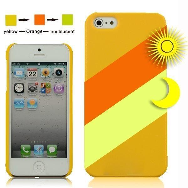 Cameleon Keltainen > Vaaleanvihreä Iphone 5 Suojakuori