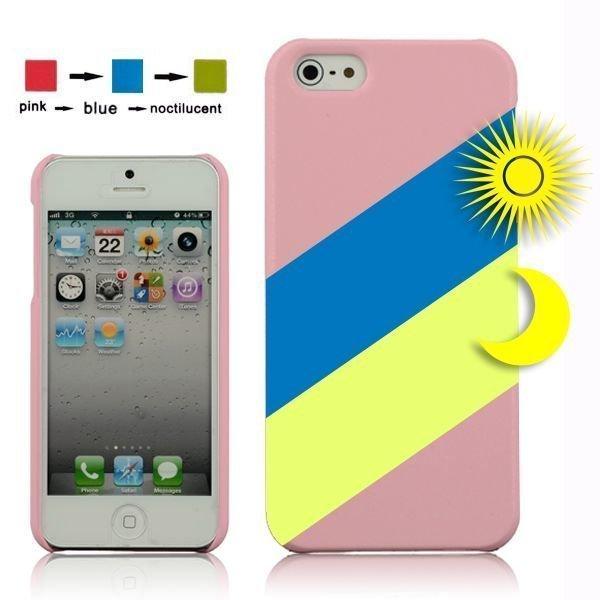 Cameleon Pink > Sininen Iphone 5 Suojakuori