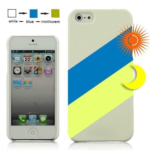 Cameleon Valkoinen > Vihreä Iphone 5 Suojakuori