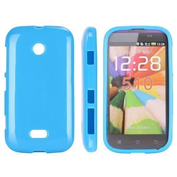 Candy Colors Sininen Nokia Lumia 510 Silikonikuori