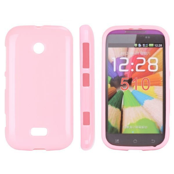 Candy Colors Vaaleanpunainen Nokia Lumia 510 Suojakuori