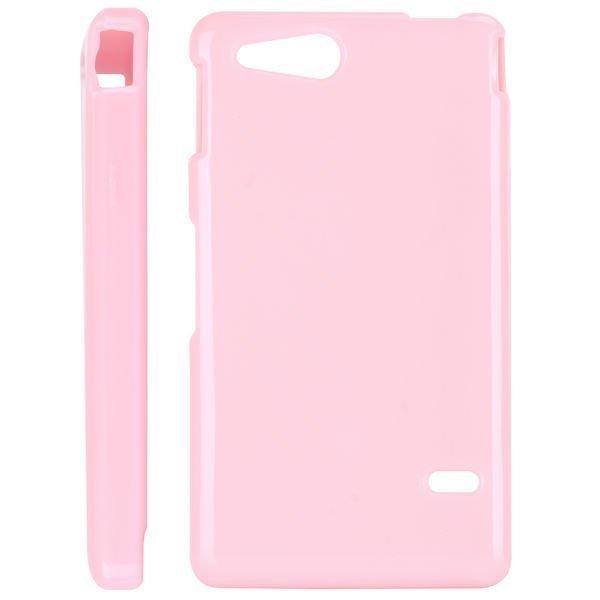 Candy Colors Vaaleanpunainen Sony Xperia Go Suojakuori
