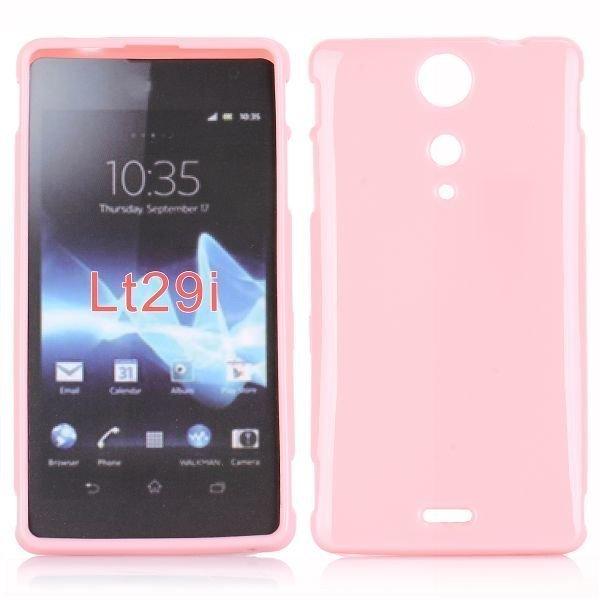 Candy Colors Vaaleanpunainen Sony Xperia Tx Suojakuori