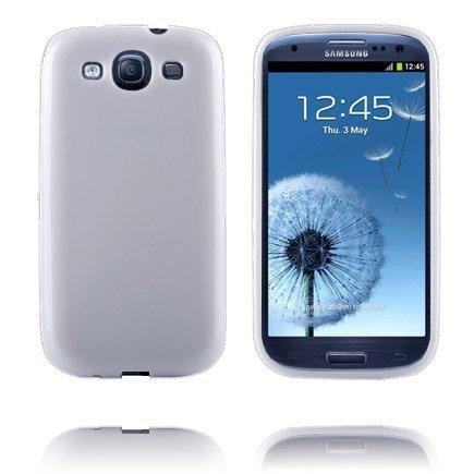 Candy Colors Valkoinen Samsung Galaxy S3 Silikonikuori