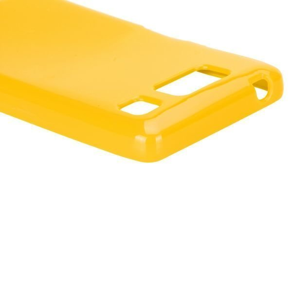 Candy Colorz Keltainen Motorola Droid Razr Maxx Hd Silikonikuori