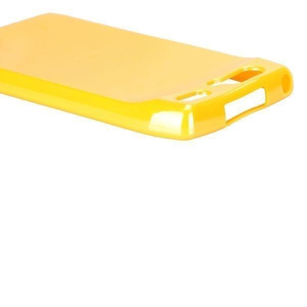 Candy Colorz Keltainen Motorola Razr Silikonikuori