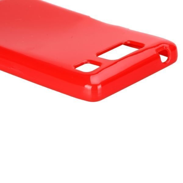 Candy Colorz Punainen Motorola Droid Razr Maxx Hd Silikonikuori