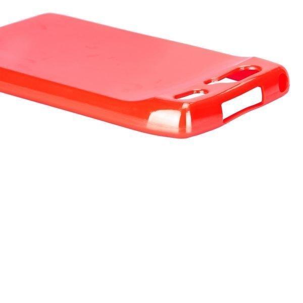 Candy Colorz Punainen Motorola Razr Silikonikuori