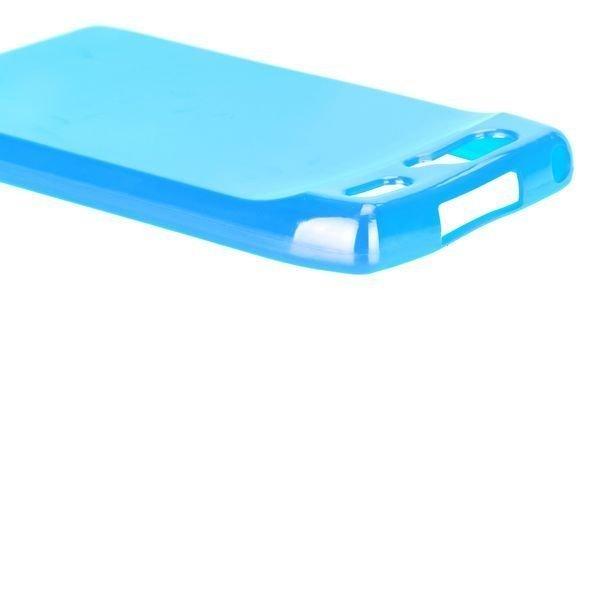 Candy Colorz Sininen Motorola Razr Silikonikuori