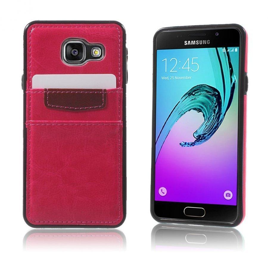 Cangaroo Samsung Galaxy A3 2016 Kuori Kuuma Pinkki