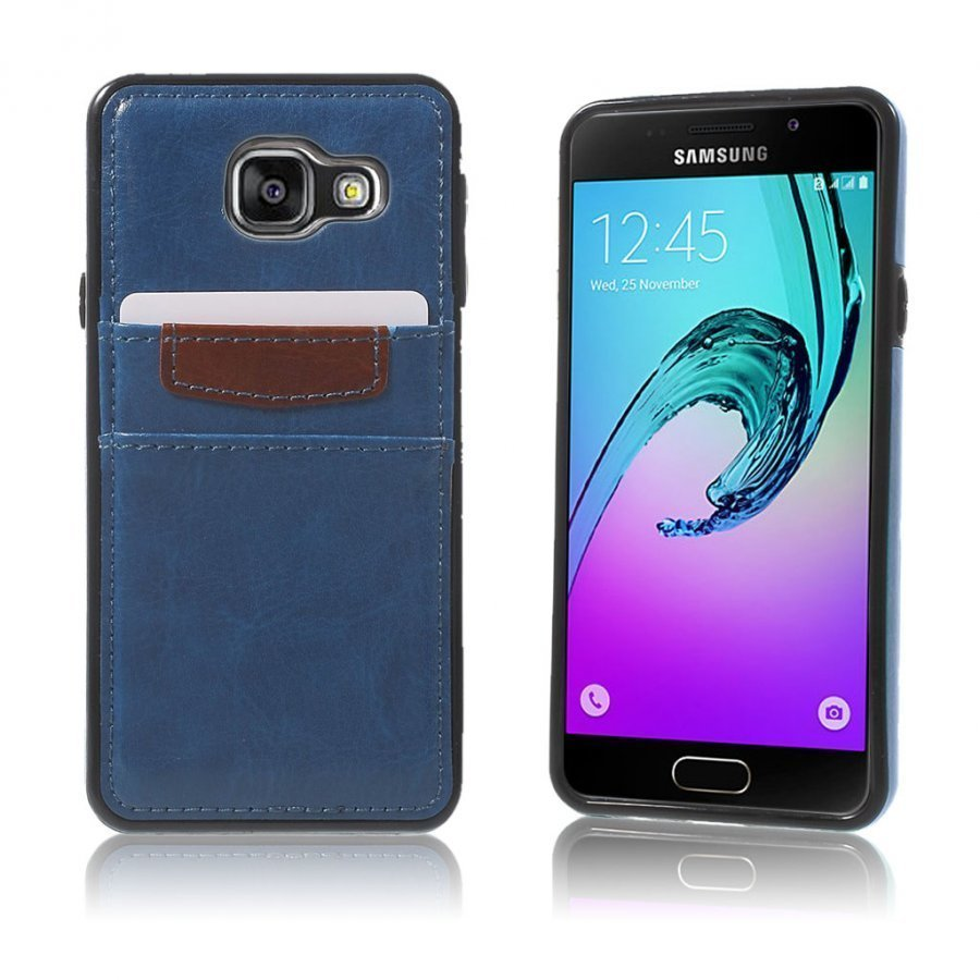 Cangaroo Samsung Galaxy A3 2016 Kuori Tummansininen